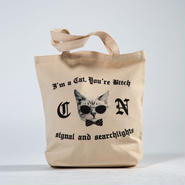 I'm a Cat, You're Bitch Canvas tote Bag