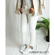 CURRENT ELLIOTT THE CROPPED STRAIGHT LEG JEAN クロップドストレートレッグジーン