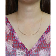 By Boe CURVED WIRE NECKLACE カーブワイヤーネックレス