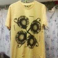 """""""SUN FLOWER""""Tシャツ"""