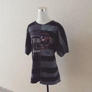 tomoki yuritaのボーダードッキングTシャツ