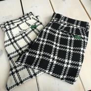 AFAME Ribs Check Pants White アフェイム リブチェックパンツ