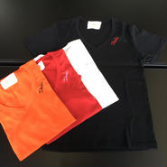 DAZZLE シンプル刺繍Tシャツ