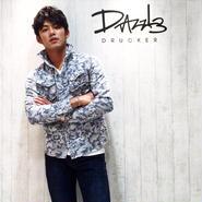 4X カモフラジャガードシャツ