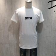 FUZZY ボックスロゴロング丈Tシャツ