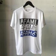 AFAME AFAME3連ロゴTシャツ