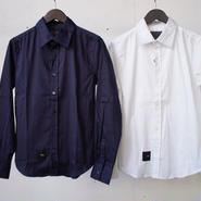 R.S.L  Cotton Satin Dress Shirt アールエスエル コットンサテンドレスシャツ