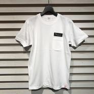 D17006《Pocket Tshirts》C/# WHITE