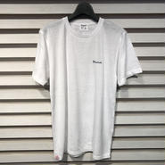 D16SS-006《Crew Neck Logo Tshirt》C/# WHITE