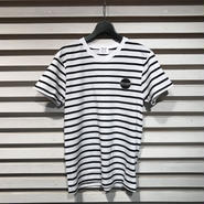 D17005《Boder Tshirts》C/# WHITE×BLACK