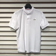 D15-T-003《Wappen Polo Shirt》C/# WHITE