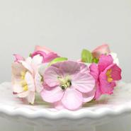 花冠「floral  pink・B」【S】サイズ
