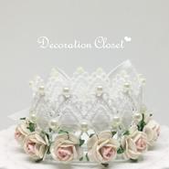 Flower Tiara【White】