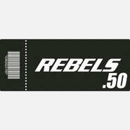 【TICKET】REBELS.50 B席 2017.4.16 ディファ有明