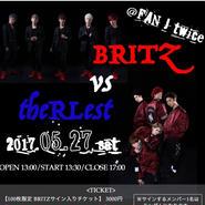 05/27  BRITZ vs theRLest 手売り&通販限定チケット