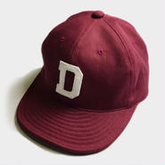 D LOGO CAP (BURGUNDY)