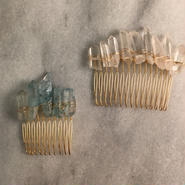 crystal stone comb(short)