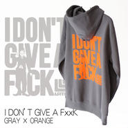 9 limited Parker『I DON'T GIVE A F××K』 GRAY×ORANGE
