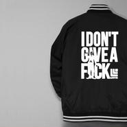26 limited・STADIUMJACKET『I DON'T GIVE A FxxK』BLACK×WHITE