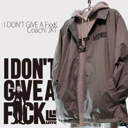 3days limited・Coach JKT『I DON'T GIVE A FxxK』GRAY×BLACK 限定14着