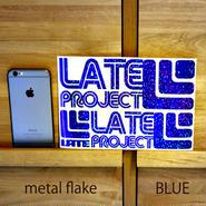 メタルフレーク・カッティングステッカー3枚セット【初回限定・A5サイズ】ゴールド、ブルー