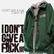 3days limited・Coach JKT『I DON'T GIVE A FxxK』GREEN×GRAY 限定17着