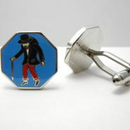 Hanch Back Man Cufflinks (ROYAL)