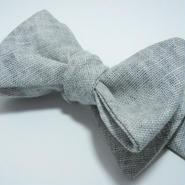 Flat Butterfly Tie (GRAY)