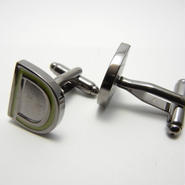 Neon Sign Cufflinks   (GREEN)
