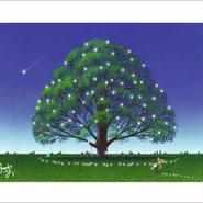 「夢見る樹」ポストカード