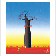 「命の木(ライフツリー)」ポストカード