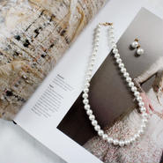 formal pearl necklace