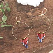 Fringe Stone Earring