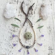 Gem stone /Buffalo Bone  Bracelet