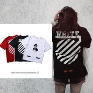 オフホワイト  Tシャツ ハート 男女兼用 夏用 3色