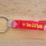 Take it Easy Loop キー リング ピンク MKR159PK