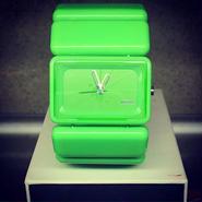 NIXSON VEGA GREEN WRIST WATCH