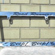 Road Runner ライセンス フレーム beep! Beep! RR002CHBB