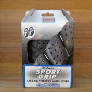 スポーツグリップ ステアリング ホイール カバー ブラック SS58-0450B