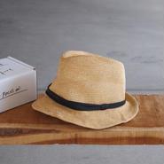 parc-nique 〈パークニック〉 PAPER HAT 01 NATURAL