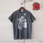 【unisex】FRUIT OF THE LOOM〈フルーツオブザルーム〉 FRUIT PARLOR ART PROJECT -  STEPHEN KENNY LOGWOOD(B)