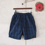【unisex】Ordinary fits〈オーディナリーフィッツ〉 TRAVEL SHORTS rip-stop NAVY