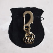 Esperanto〈エスペラント〉 KARABINER KEY HOLDER  (EM-437K) ANTIQUE GOLD
