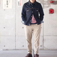 Manual Alphabet〈マニュアルアルファベット〉 ATTACHMENT TROUSERS (MA-P-085) BEIGE