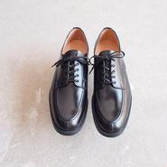 SANDERS〈サンダース〉  Apron Derby Shoe エプロンダービーシューズ (9386) Black