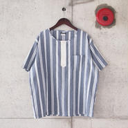 SUNNY SPORTS 〈サニースポーツ〉 3B HENLEY NECK SHIRT STRIPE