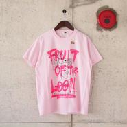 【unisex】FRUIT OF THE LOOM〈フルーツオブザルーム〉 FRUIT PARLOR ART PROJECT - 神山 隆二 STRAW BERRY(B)