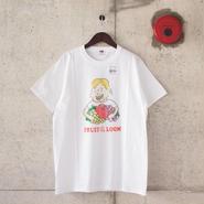 【unisex】FRUIT OF THE LOOM〈フルーツオブザルーム〉 FRUIT PARLOR ART PROJECT - 小田原 愛美 WHITE