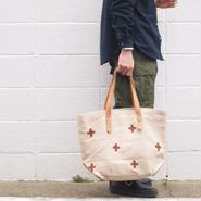 【SALE】UNITED LOT〈ユナイテッドロット〉 Fabric Tote Bag BEIGE