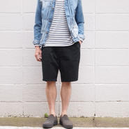 【unisex】Ordinary fits〈オーディナリーフィッツ〉TRAVEL SHORTS  (OM-P061) BLACK